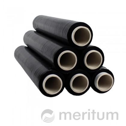 Folia stretch ręczna 23mic/1,5kg/czarna