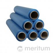 Folia stretch ręczna 23mic/1,5kg/niebieska