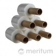 Folia stretch ręczna MINI 23mic/100mm/300m/bezbarwna z rączką