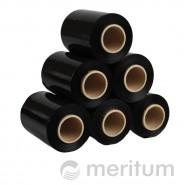 Folia stretch ręczna MINI 23mic/100mm/150m/czarna bez rączki