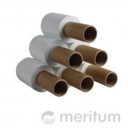 Folia stretch ręczna MINI 23mic/100mm/150m/biała z rączką