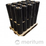 Folia stretch maszynowa standard 23mic/czarna/800 kg