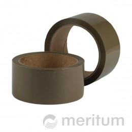 Taśma samoprzylepna pakowa 48mmx60m/ brąz/ solvent wzmocniony