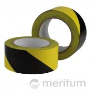 Taśma ostrzegawcza PCV 100mmx33m/ żółto-czarna