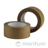 Taśma samoprzylepna papierowa 50mmx50m/kauczuk naturalny/brąz