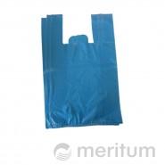 Reklamówka HDPE kolor 25 x 45 cm / 100 szt / niebieska