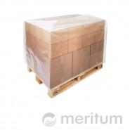 Kaptur foliowy na paletę 1200x800x1500mm/ 40 mic/bezbarwny