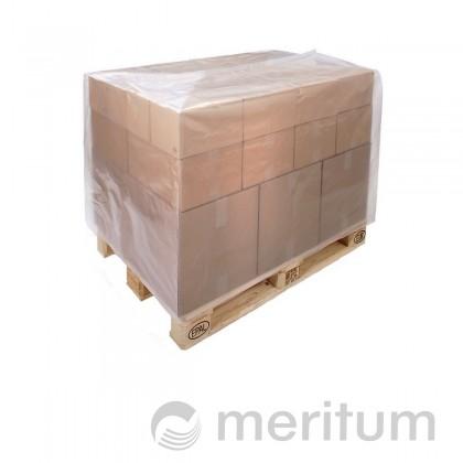 Kaptur foliowy na paletę 1200x800x1500mm/ 60 mic/regranulat