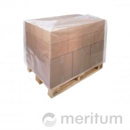 Kaptur foliowy na paletę 1200x800x1000mm/ 80 mic/regranulat